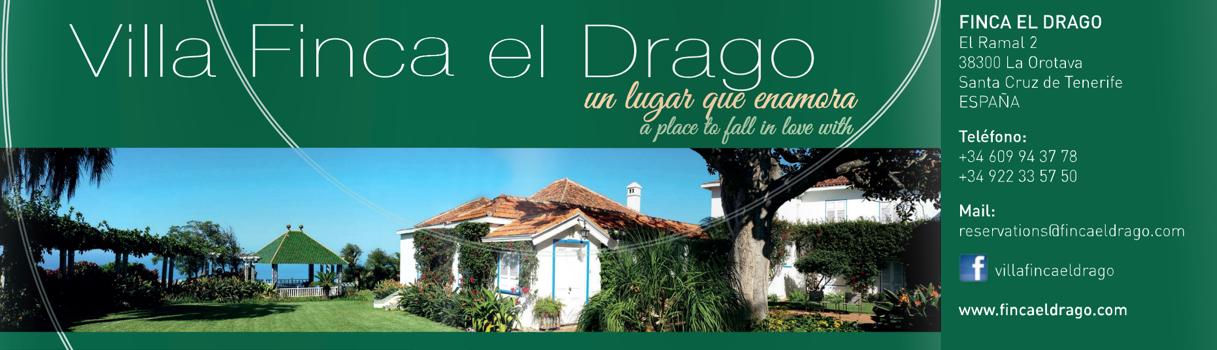 LA OROTAVA - villa finca el drago