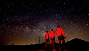 teleférico del Teide, estrellas, noche, islas canarias, norte de Tenerife