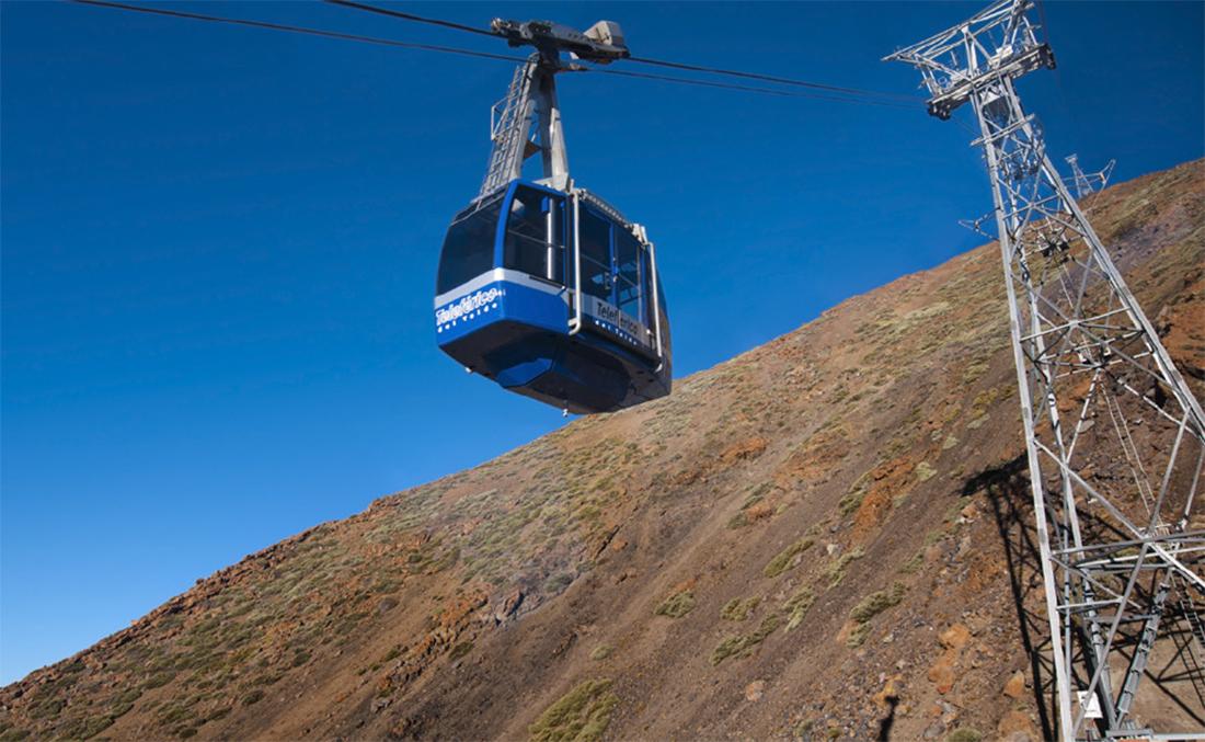 teleférico del Teide, Tenerife, norte de la isla, islas canarias,