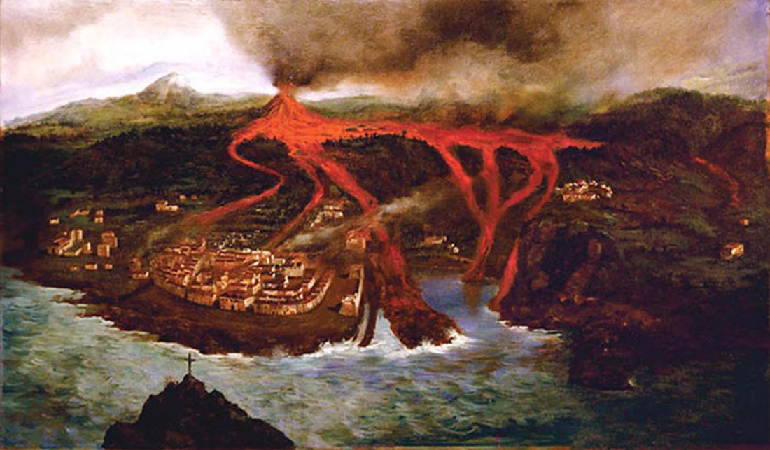 volcán de Garachico, Tenerife, Islas Canarias, norte de Tenerife, cultura, ocio