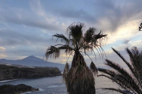 La costa matancera y el Teide